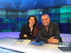 foto Benedetta Rinaldi, Franco Di Mare, Uno Mattina