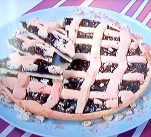 foto crostata di marmellata all'uva