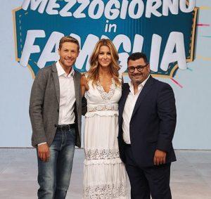 foto Massimiliano Ossini, Adriana Volpe, Sergio Friscia