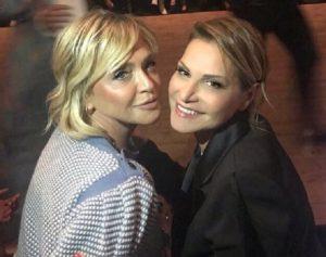 Foto Simona Ventura e Paola Barale