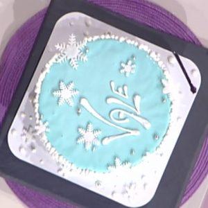 foto torta di Frozen Detto Fatto