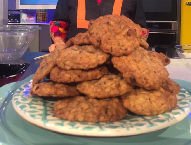 Foto biscotti con fiocchi di avena La Prova del cuoco
