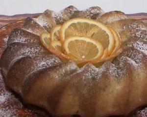 Foto ciambella arancia Cotto e mangiato