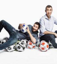 Foto Luca e Paolo comici conducono Quelli che il calcio