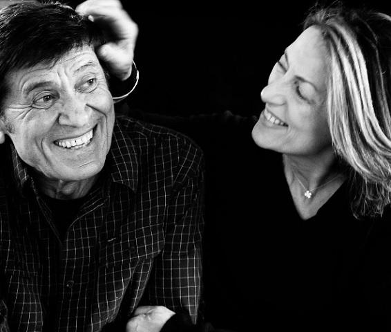 Foto Gianni Morandi e Anna Dan