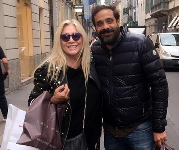 Foto Mara Venier e suo figlio Paolo