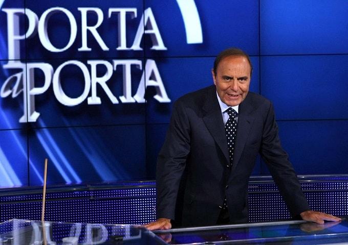 Foto Bruno Vespa Porta a Porta