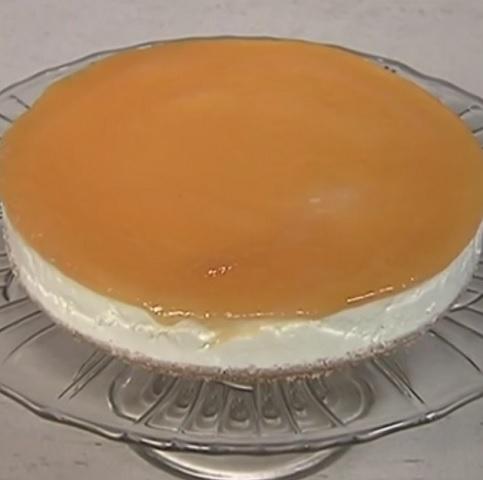 foto cheesecake all'arancia