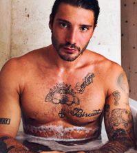 foto Stefano de martino nudo