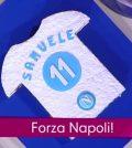 foto torta forza Napoli