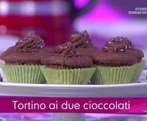 foto tortino ai due cioccolati