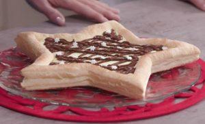 Foto stella di sfoglia Le ricette di Natale