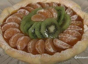 foto crostata mandarini e kiwi