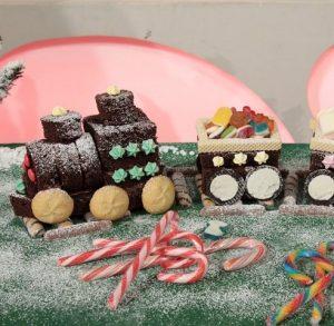 foto trenino di Natale