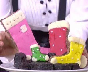 Foto carbone e calza di cioccolato Detto fatto