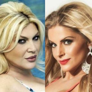 foto l'isola dei famosi nadia Rinaldi litiga con Francesca cipriani
