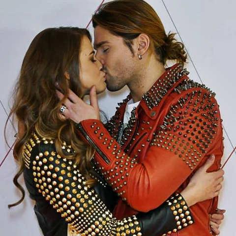 foto luca onestini e Ivana mrazova fidanzatii