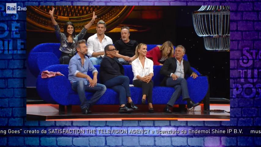 Foto degli ospiti della sesta puntata di Stasera tutto è possibile 2018