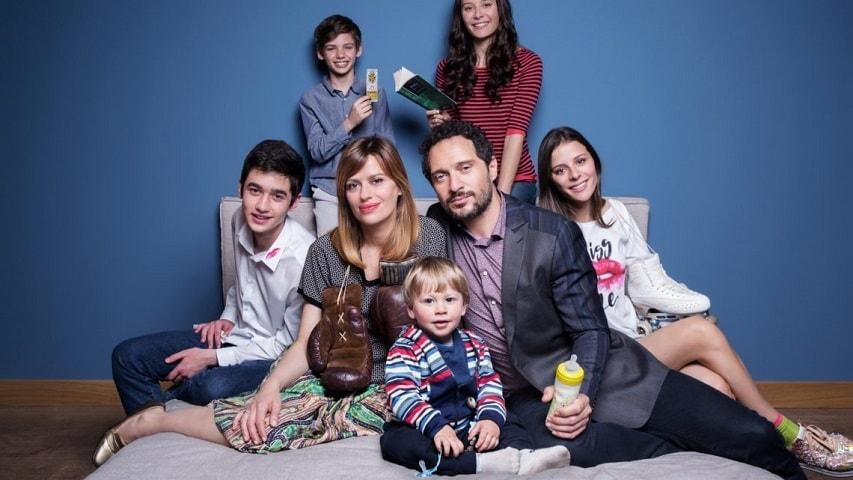 Foto E' arrivata la felicità 2 la famiglia Mieli