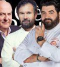 foto c'è posta per te gerry scotti Antonino cannavacciuolo Carlo cracco