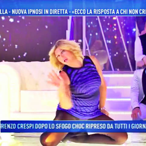 foto nadia Rinaldi ipnosi domenica live