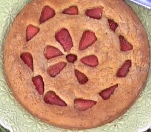 foto torta alle fragole