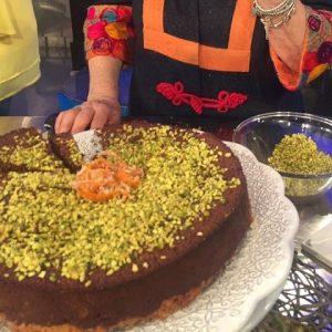 foto torta cous cous e cioccolato