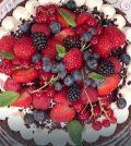 foto torta in padella foresta nera