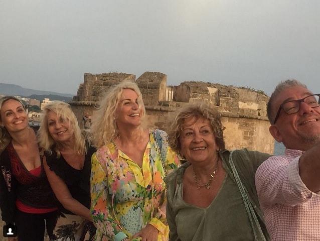 foto Antonella Clerici e Anna Moroni