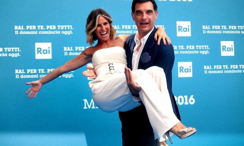 Foto Ingrid Muccitelli e Tiberio Timperi