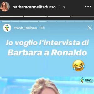 foto post di Barbara d'Urso