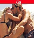 foto bacio ilary blasi e francesco totti