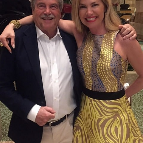 foto Federica Panicucci con il padre