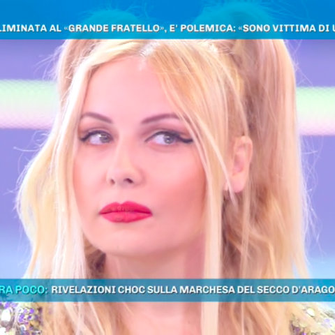 foto lisa fusco domenica live daniele interrante