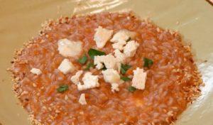 Foto risotto zucca e formaggio ricette all'italiana