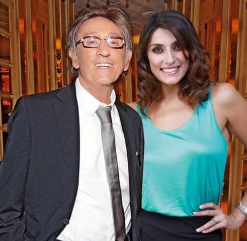 foto Elisa Isoardi con Mayer