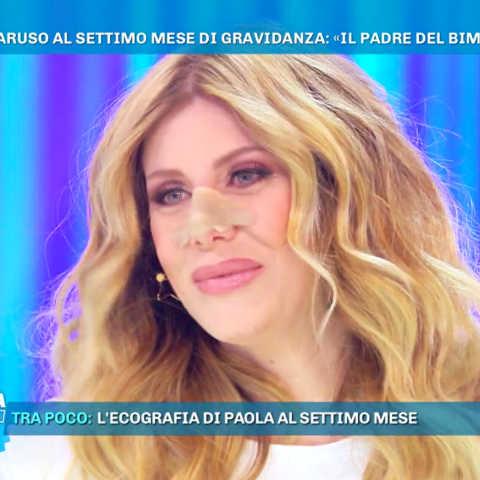 foto Paola Caruso domenica live Barbara d'Urso
