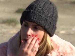 foto Claudia Dionigi che piange
