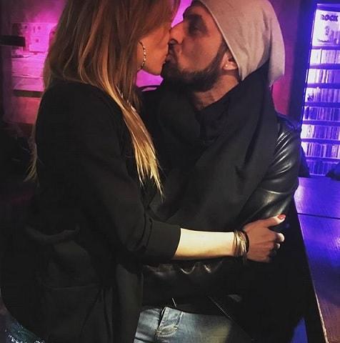 foto Sossio e Ursula bacio