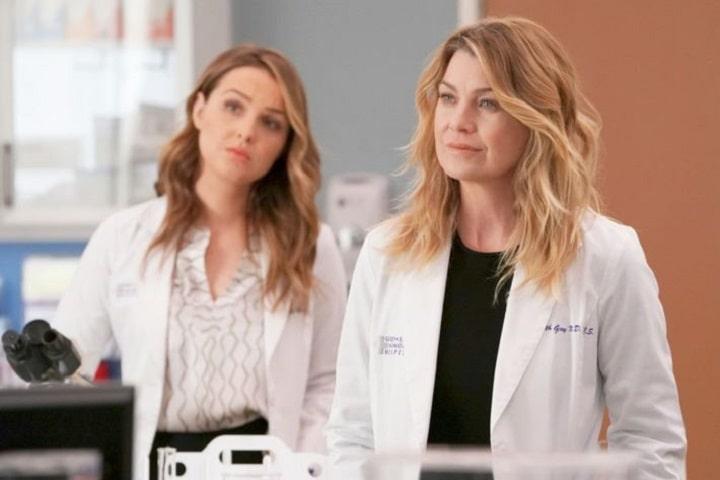 Foto Meredith e Jo