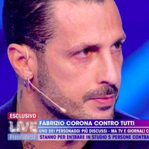 foto Fabrizio Corona scuse a Barbara D'Urso
