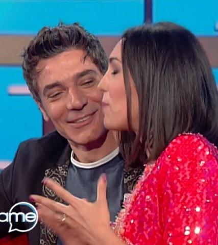 foto Giuseppe Zeno con Caterina Balivo