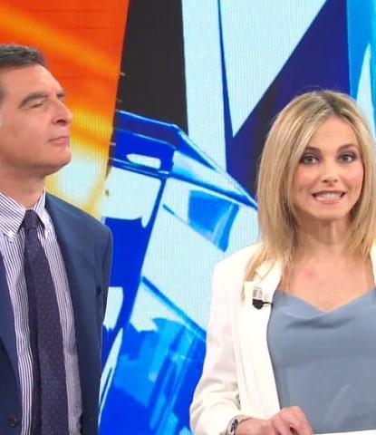 foto Tiberio Timperi e Francesca Fialdini 26 aprile