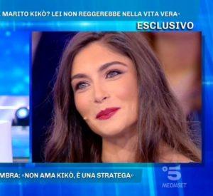 Foto Ambra Lombardo proposta Domenica Live