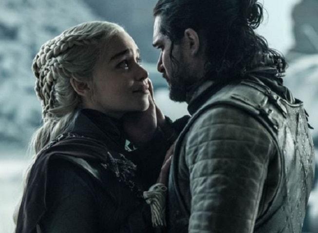 Foto Daenerys e Jon