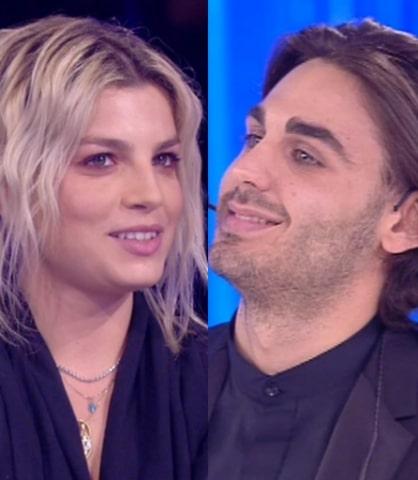 Foto Emma Marrone e Alberto Urso ad Amici 2019