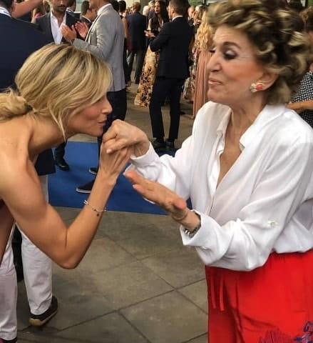 Foto Francesca Fialdini e Franca Leosini