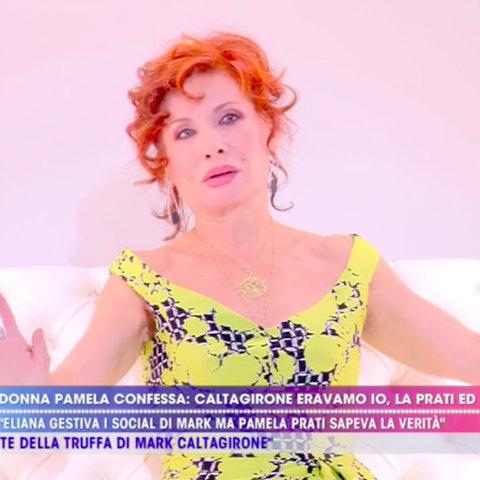 foto Alda D'Eusanio live non è la d'urso Pamela Perricciolo