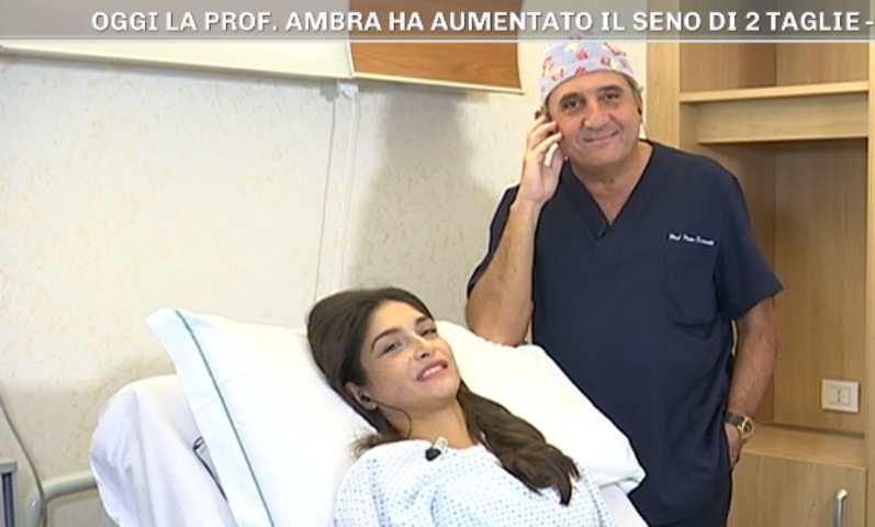 foto ambra lombardo operazione