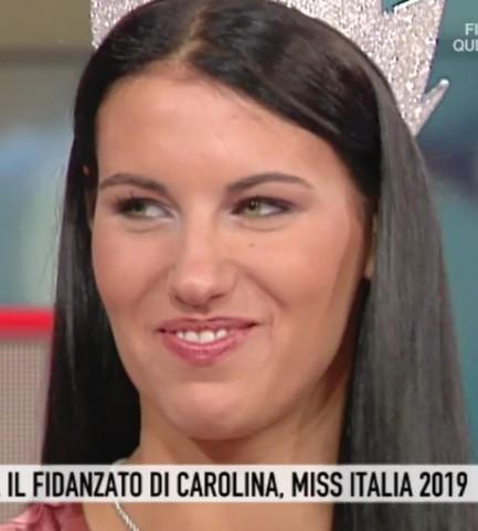 Foto Carolina Stramare Miss Italia 2019 a Storie Italiane